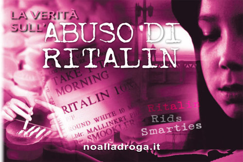 La verità sull'abuso di Ritalin